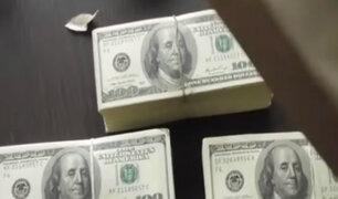 Rímac: policías incautaron euros y dólares falsos en agencia de transporte interprovincial