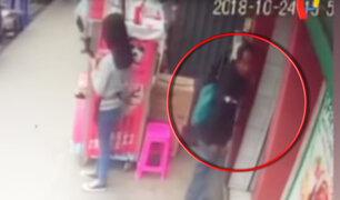 Pachacámac: cámaras registran robo de mochila con fuerte cantidad de dinero