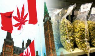 Canadá enfrenta escasez de marihuana legal a pocos días de su legalización