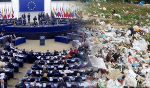 Parlamento Europeo aprueba la prohibición de las bolsas plásticas