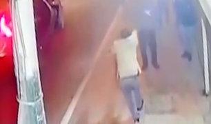 Callao: a balazos delincuentes asaltan a transeúntes en Bellavista