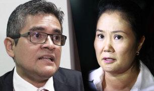 Se reanuda audiencia de prisión preventiva contra Keiko Fujimori