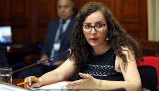 Rosa Bartra indicó que todavía no presentará denuncia contra fiscal Domingo Pérez