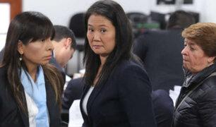 "Keiko Fujimori: ""Fiscal Pérez reitera su perversa estrategia de destruir a mi abogada"""