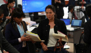 Keiko Fujimori afirmó que testigos protegidos mienten