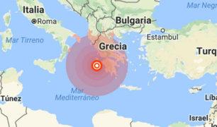 Terremoto de 6.8 remeció a Grecia este jueves