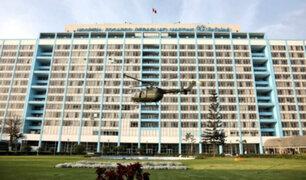 Hospital Rebagliati: helicóptero transportó corazón para transplante