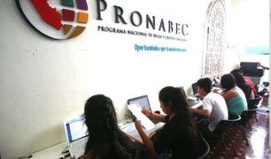 Pronabec lanza programa de 2,700 becas para estudiantes de escasos recursos económicos