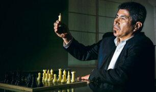 Orgullo: Julio Granda derrotó al legendario ajedrecista ruso Anatoli Kárpov
