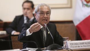 Controversia por proyecto que Pedro Chávarry presentó al Congreso