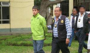 Delincuente 'Gringasho' fue trasladado al penal de Pasco