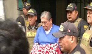 Exconsejero Julio Gutiérrez Pebe fue recluido en penal Castro Castro