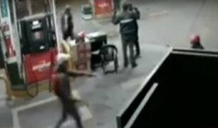 Cámaras de seguridad captan asaltos en provincias