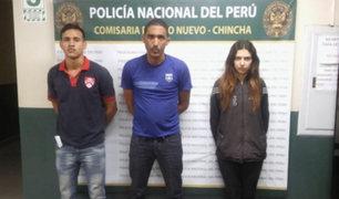 """Chincha: desarticulan peligrosa banda """"Los venecos de Pueblo Nuevo"""""""