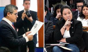 La tremenda audiencia: Fiscalía pide 36 meses de prisión preventiva para Keiko