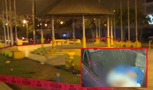 VMT: joven es asesinado de un balazo en cancha de fulbito