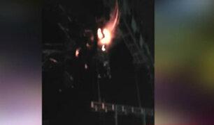 Puente Piedra:  interrumpen concierto Sonia Morales por pequeño incendio