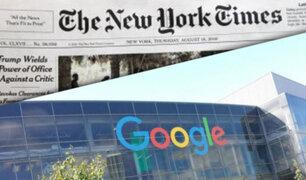 Según New York Times, 3 ejecutivos de Google están envueltos en escándalo por abuso sexual