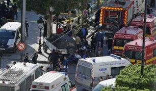 Atentado suicida en la capital de Túnez deja al menos nueve heridos