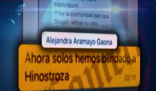 """Según El Comercio, nuevos chats de """"La Botica"""" confirmarían blindaje a César Hinostroza"""