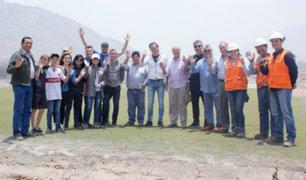 Ricardo Gareca y comando técnico visitaron el nuevo Centro de Selecciones de la FPF