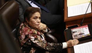 Controversia en el Congreso: Salgado asegura que reforma política es para después del 2021