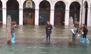 Italia: Venecia en peligro de quedar bajo el agua
