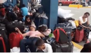 Tumbes: 4 mil venezolanos pasan la noche en el Cebaf