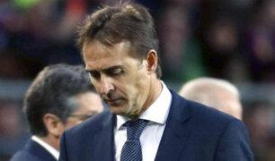 Real Madrid y el terrible despido de Julen Lopetegui