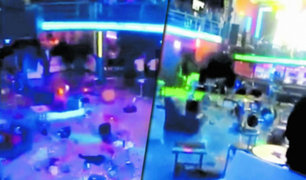 Cajamarca: sujetos ocasionan desmanes en discoteca tras ser echados