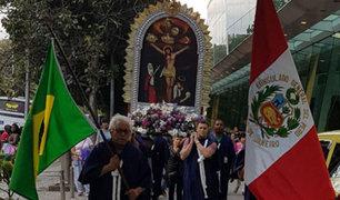 Señor de los Milagros: celebran 25 años de la primera procesión en Brasil