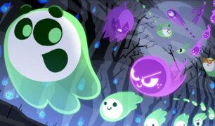 Google: El terrorífico y adictivo doodle para jugar en Halloween