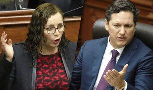 Congreso: se registró acalorada discusión entre Daniel Salaverry y Rosa Bartra