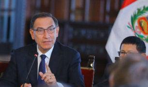 Presidente Vizcarra plantea eliminar el voto preferencial y la inmunidad parlamentaria