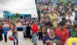 Tumbes: hoy vence plazo para que Venezolanos ingresen sin pasaporte a nuestro país