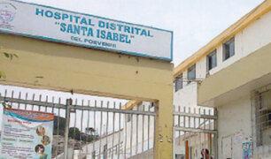 Trujillo: mujer dio a luz en patio de posta médica en El Porvenir