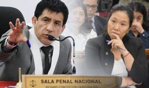 Juez Concepción Carhuancho lee resolución de pedido de prisión preventiva contra Keiko Fujimori