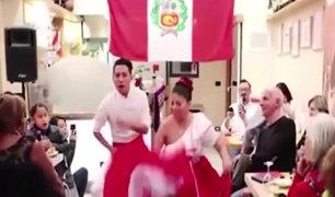 Italia: compatriotas celebran el Día de la Canción Criolla