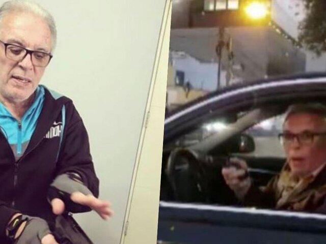 Ministerio de Transportes suspendió licencia de Liendo Rázuri de manera temporal