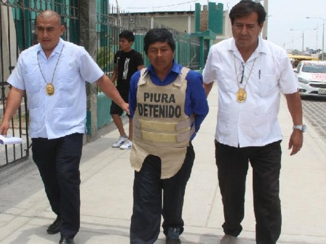 Capturan a terrorista de Sendero Luminoso cuando se encontraba en mitin en Piura