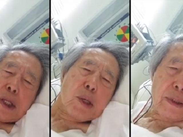 Alberto Fujimori envía mensaje desde la clínica tras anulación de indulto
