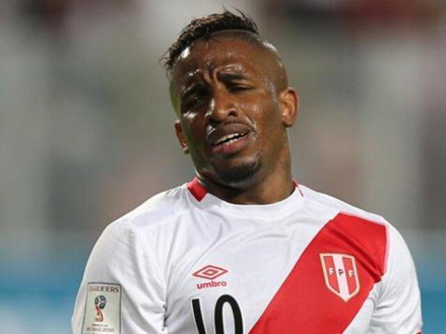 CONFIRMADO: Jefferson Farfán no estará en los amistosos de la Selección Peruana