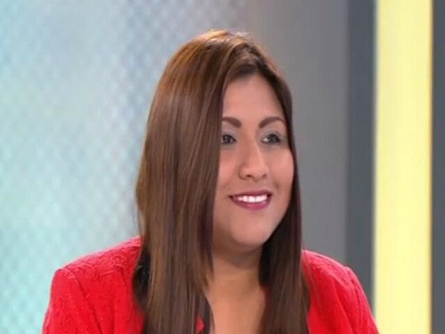 """Cristina Nina, virtual alcaldesa de SJM: """"Estamos decepcionados de la actual gestión"""""""