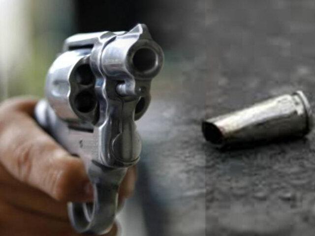 Callao: balacera en fiesta de quince años deja un hombre herido