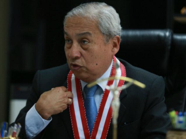 Consejo de Ética del CAL admite denuncia contra fiscal Pedro Chavarry