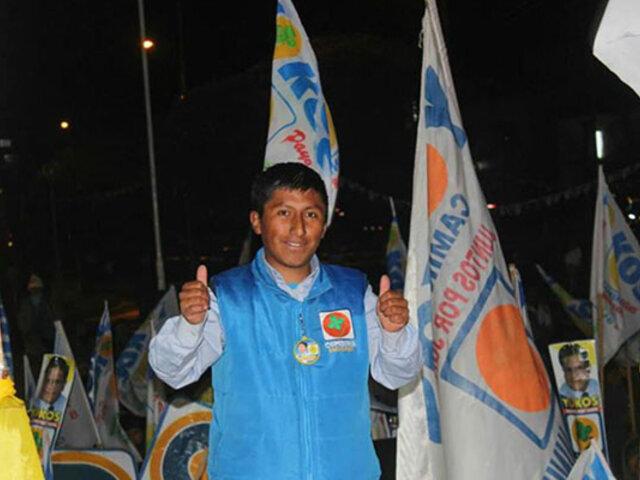 Junín: portero de escuela fue elegido alcalde en distrito de Ondores