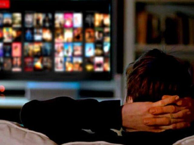 Por primera vez se reporta un caso de adicción a Netflix