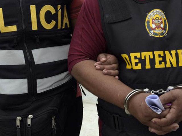 Capturan a presunto dirigente peruano de ISIS en San Juan de Lurigancho