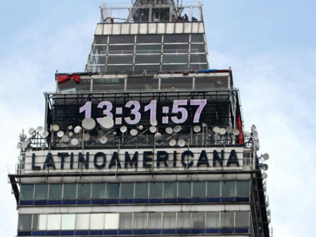 México: población deberá atrasar una hora sus relojes por cambio al horario de invierno