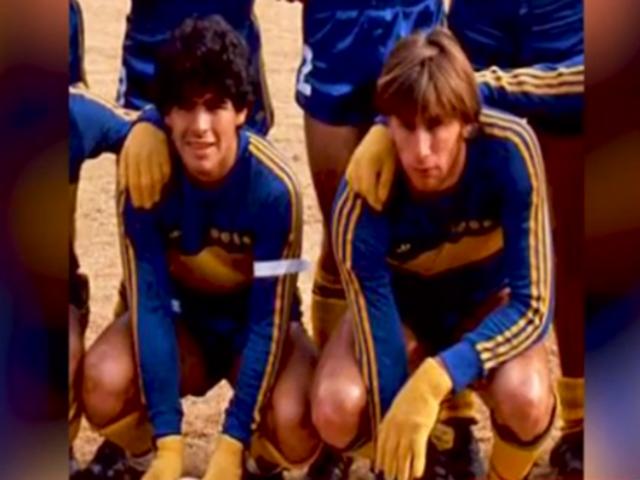 Esta es la foto inédita de Ricardo Gareca y Maradona